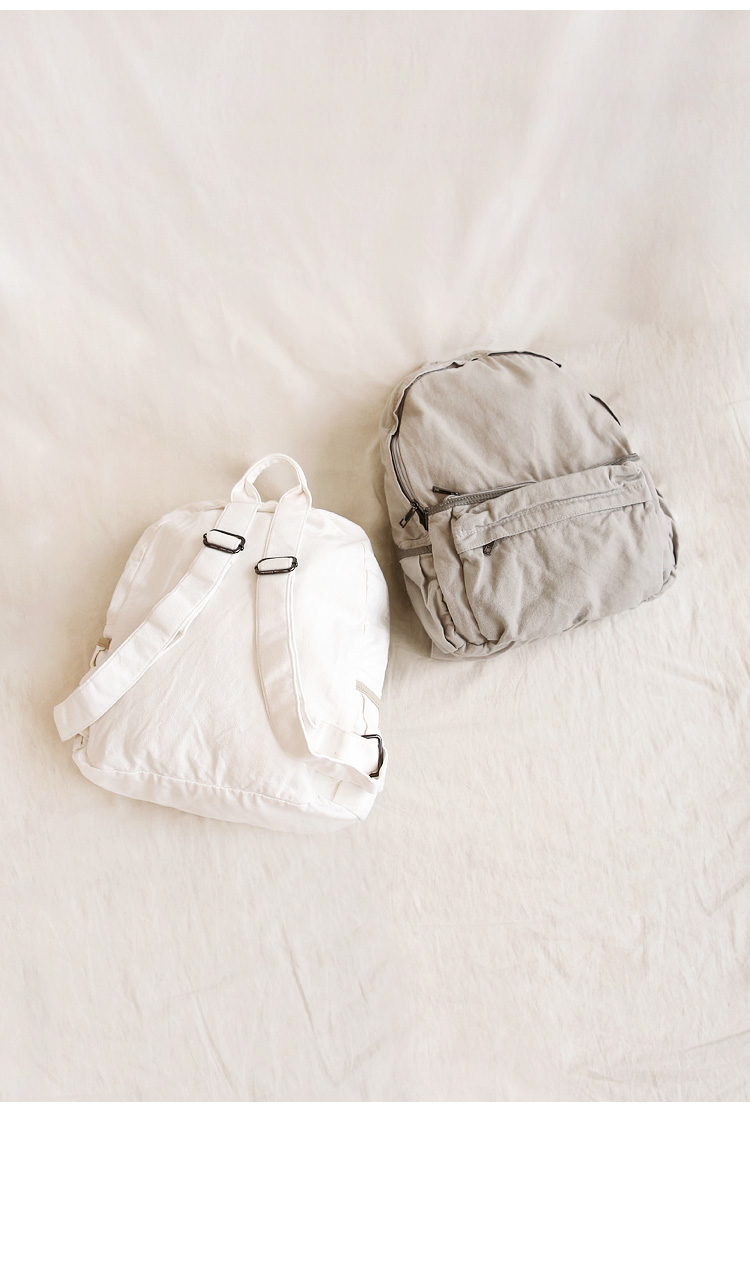 COSTA POCKET COTTON BACKPACK