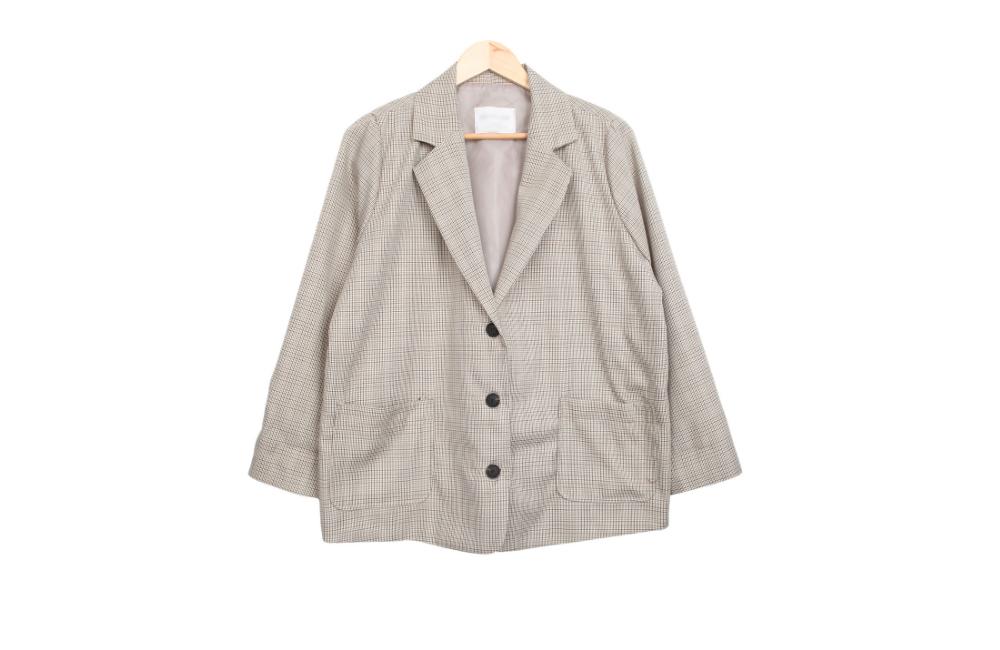 Paris check jacket