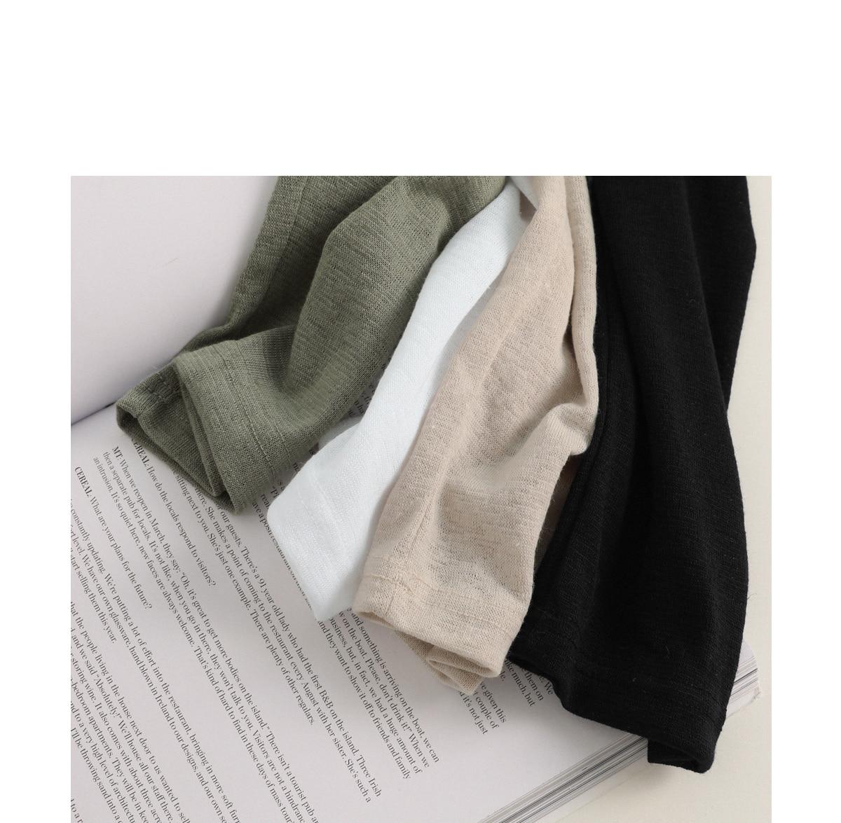 Delivering linen cardigan