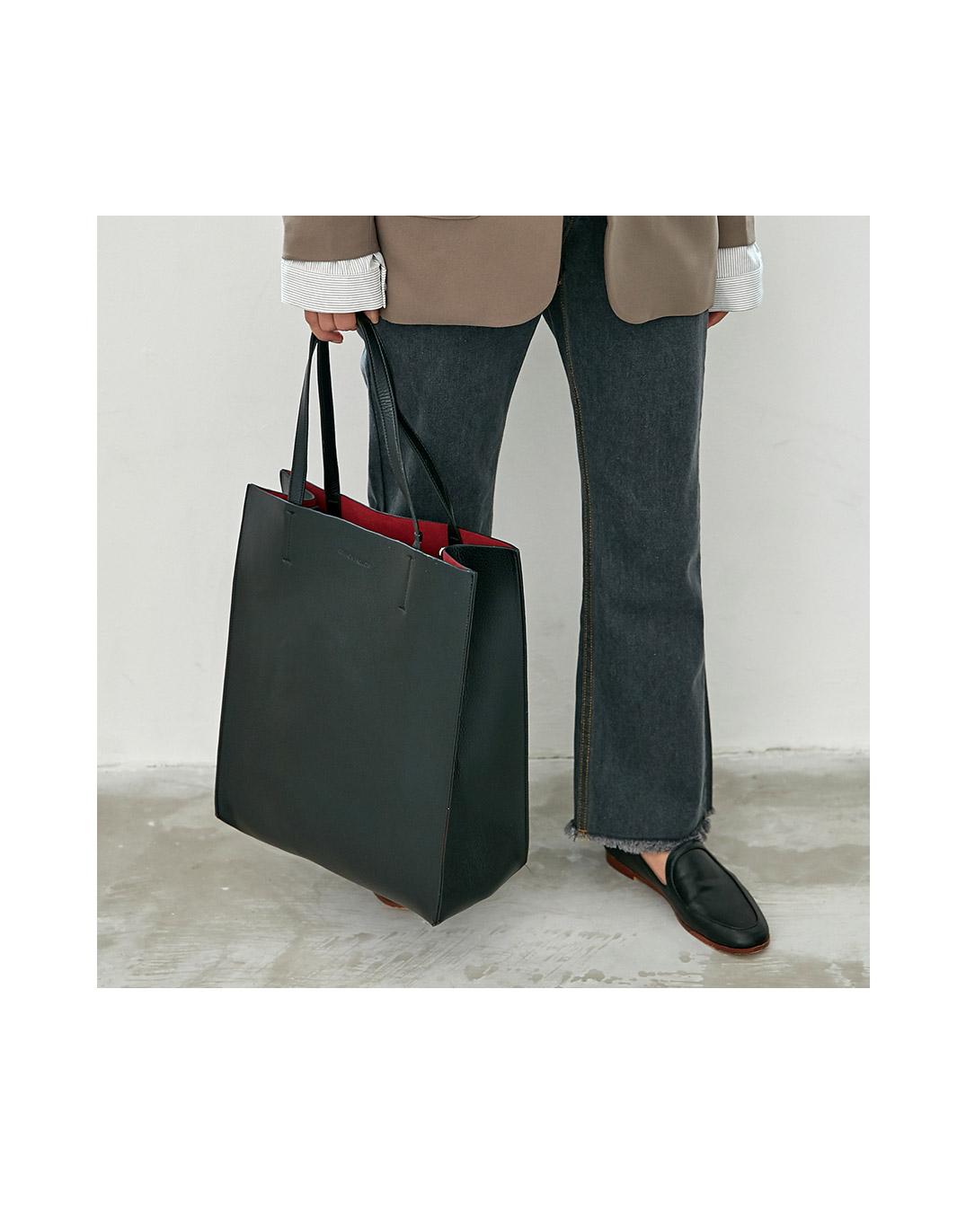 simple square tote bag