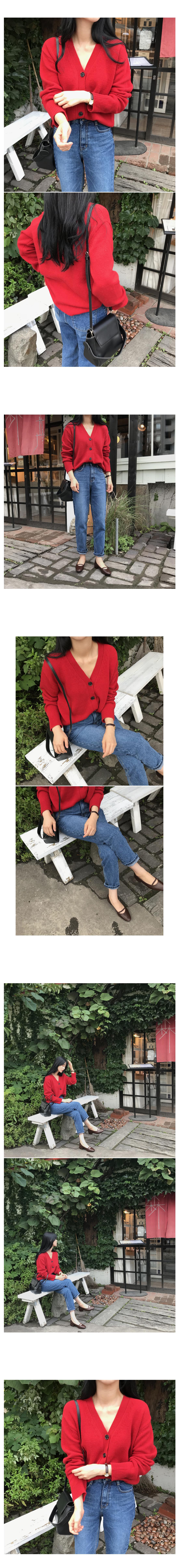 Series knit cardigan