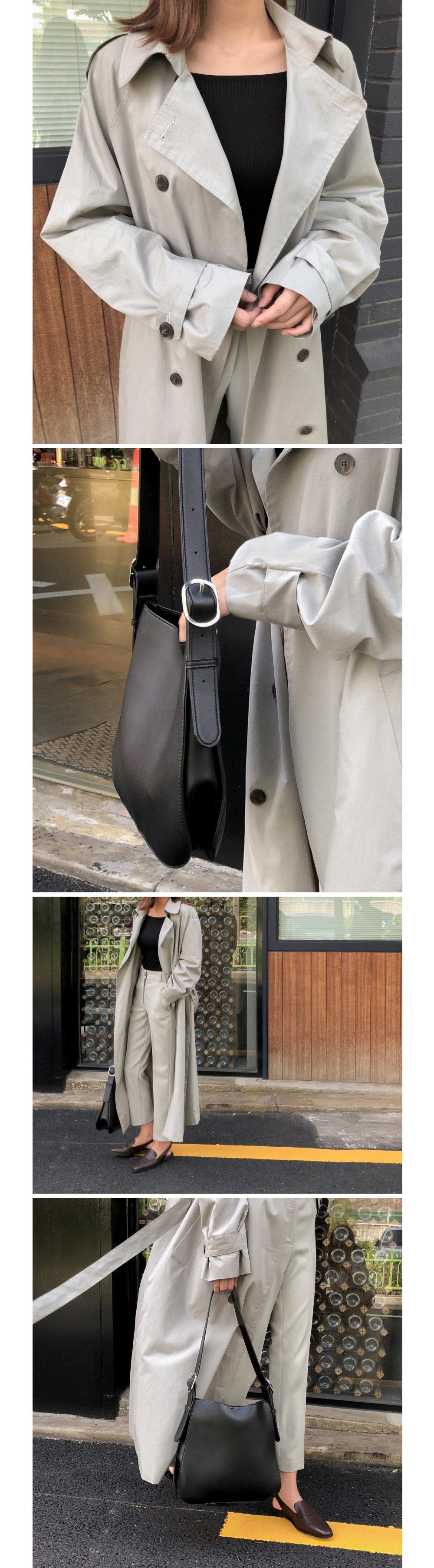 classy buckle shoulder bag