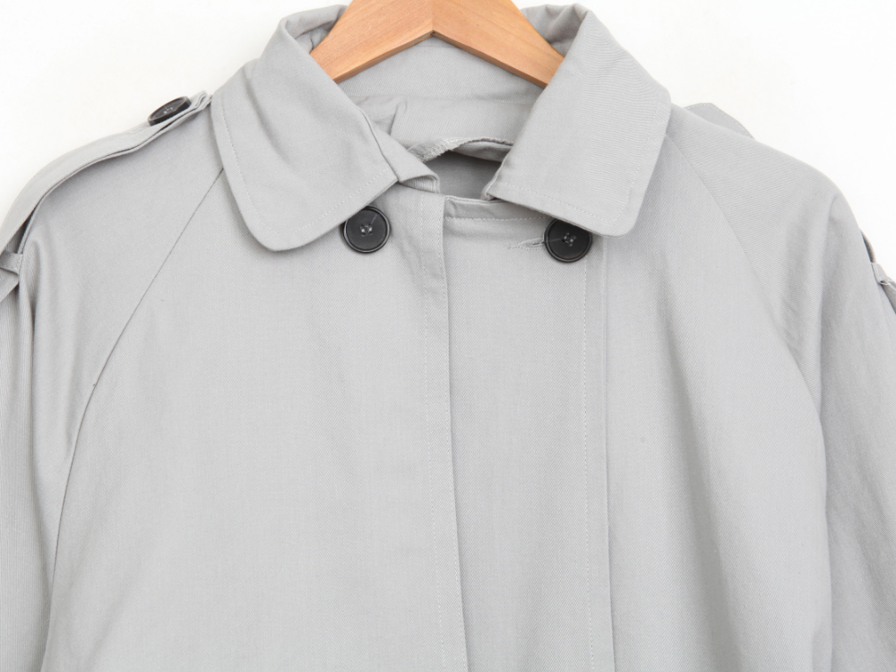 Detail Trench Coat