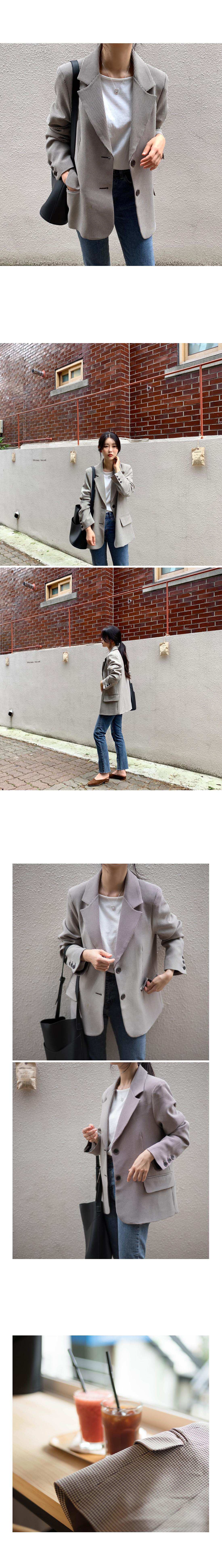 Hound Check Single Jacket