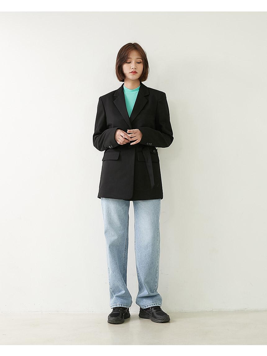 Line Nem denim wide pants