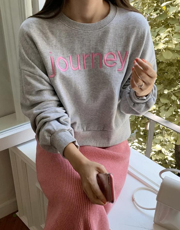 Journey embroidery Cropman to man