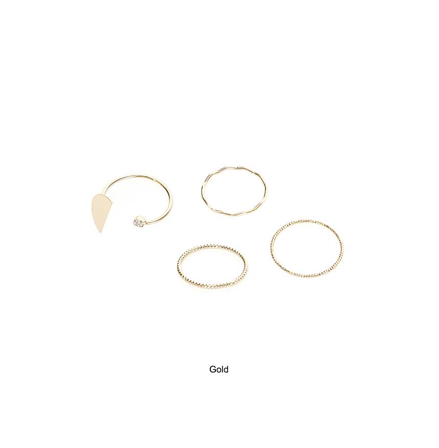 Half ring set