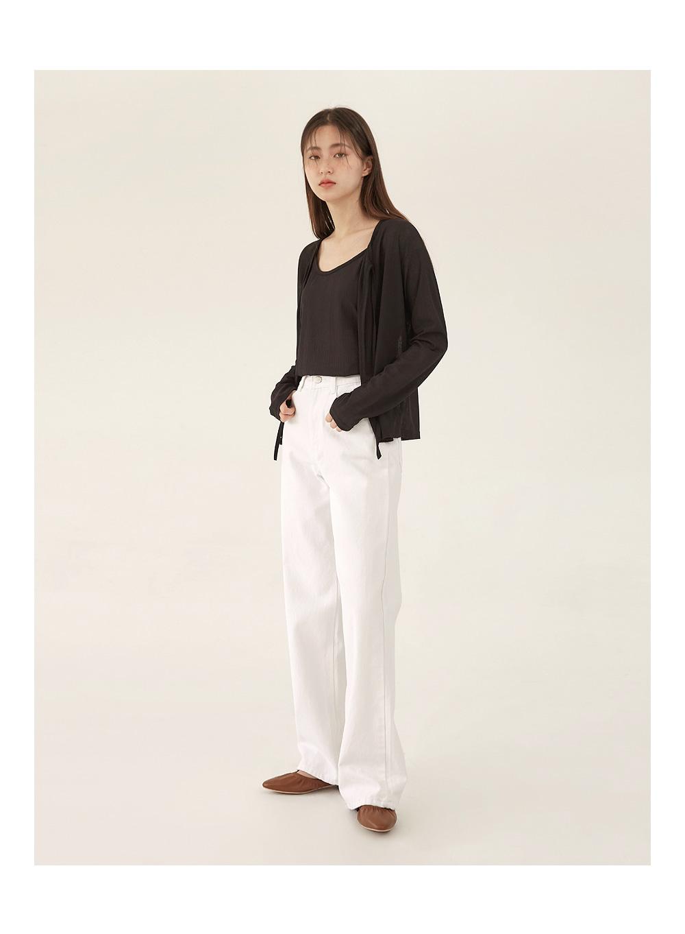 pure cotton wide pants