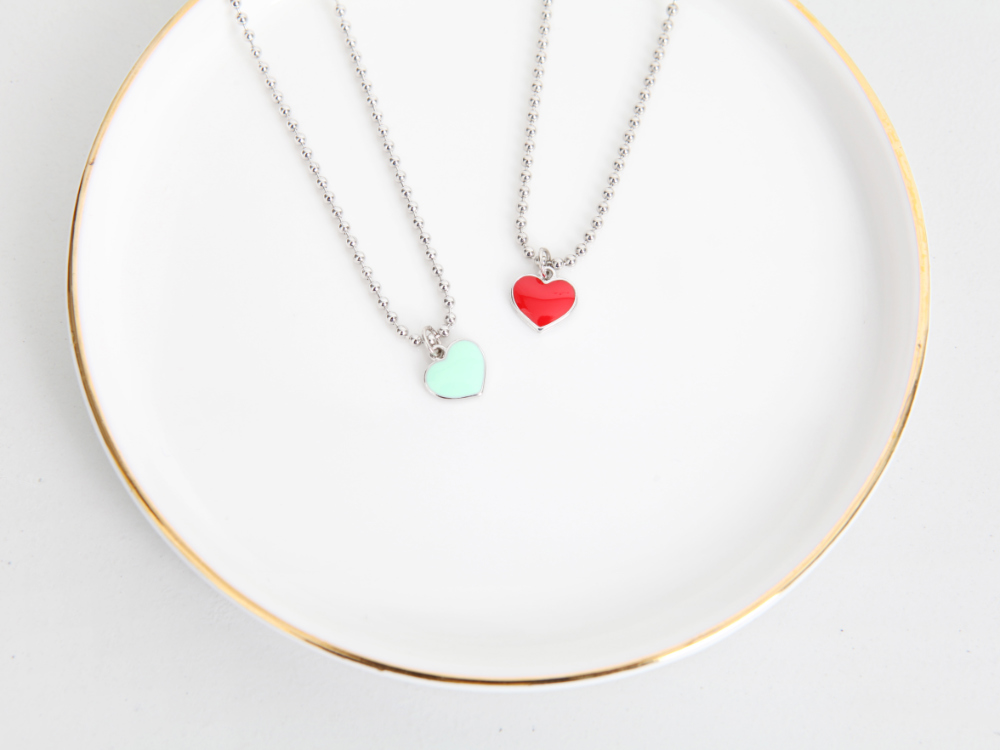 Heart Ball Necklace