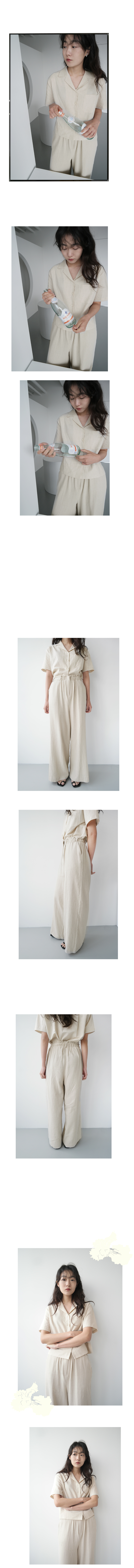 wearable wide linen pants