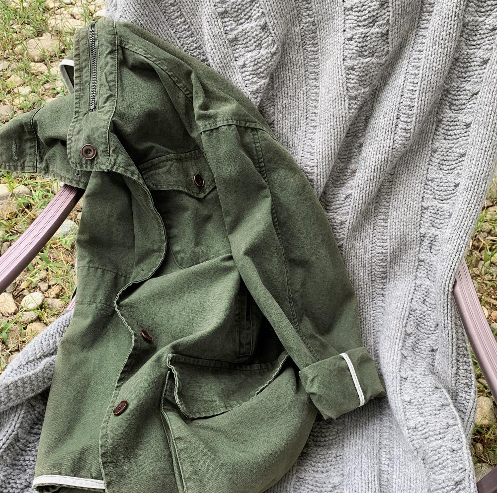 Vintage loose fit jumper