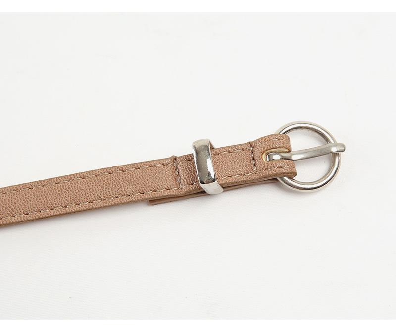 daily thin round belt