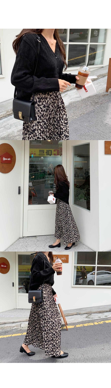 Hope Pleats Long Skirt