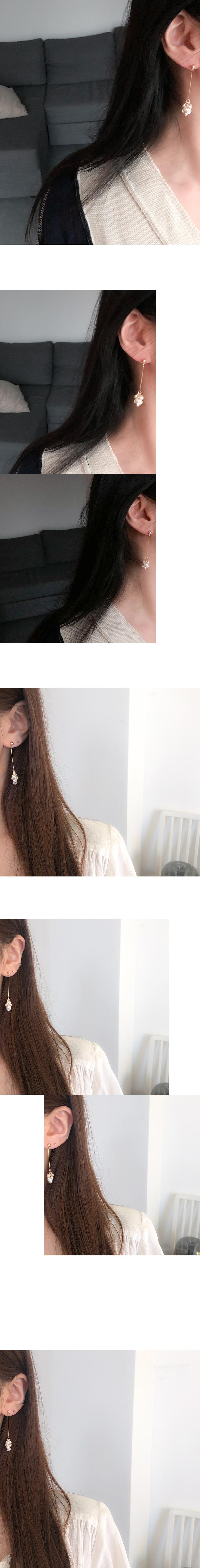 dandelion earring