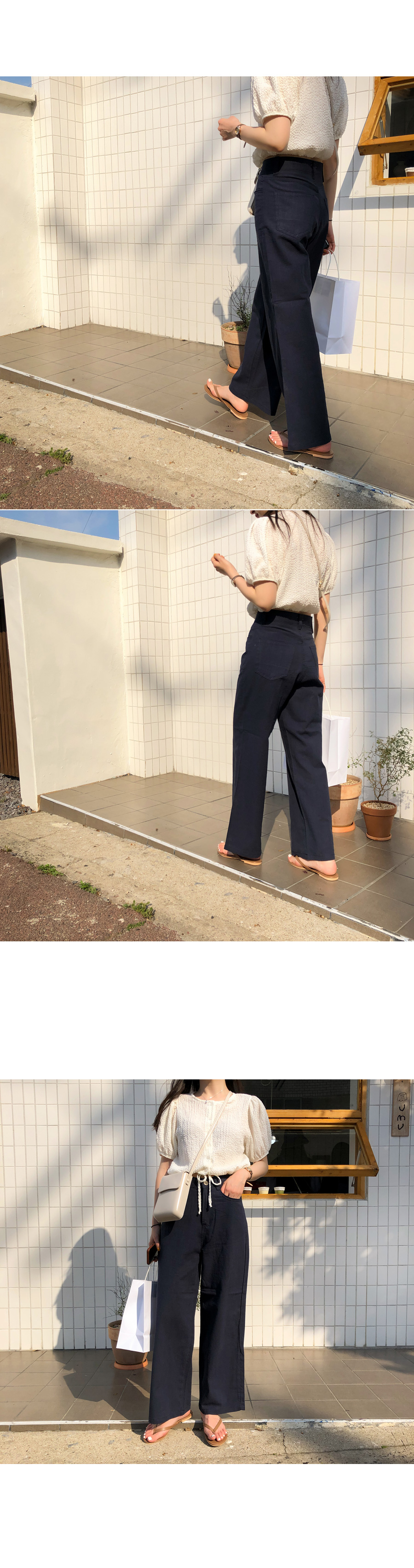 Tentia pants navy L