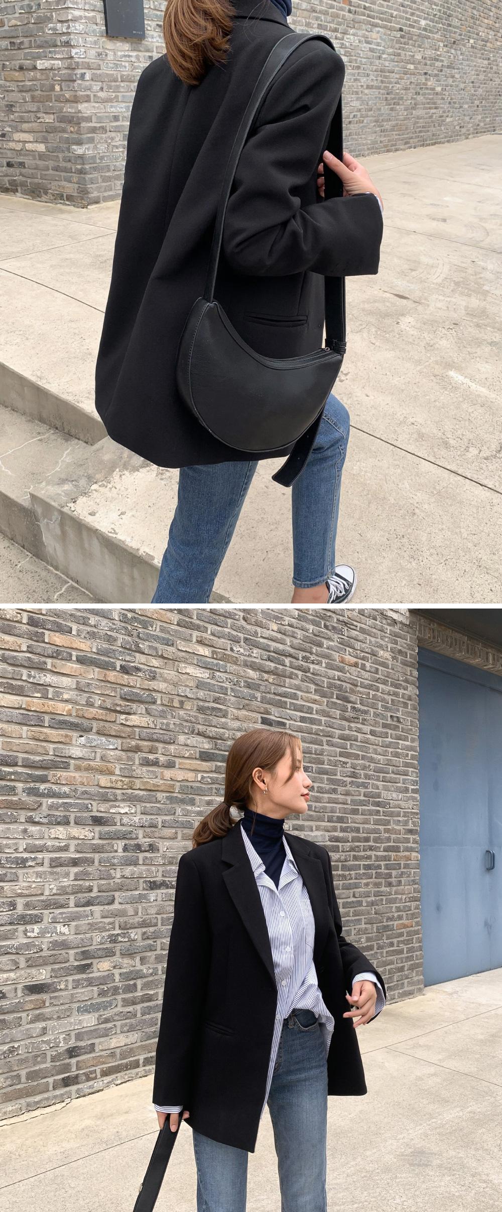 2 button classy basic jacket