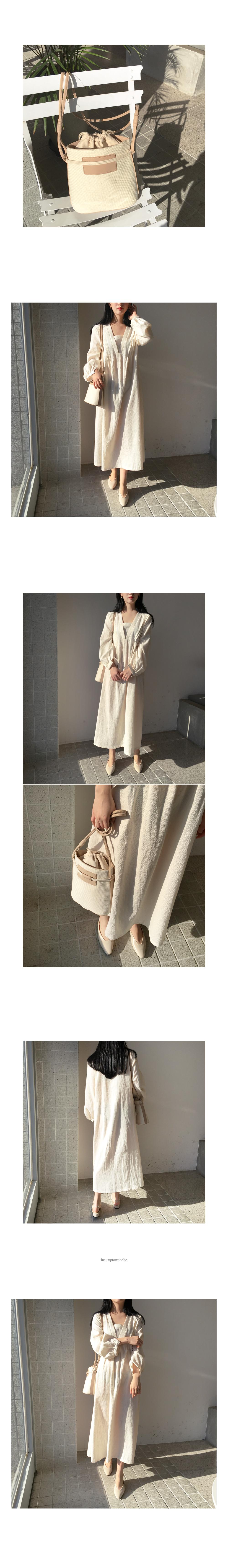Blind bag beige