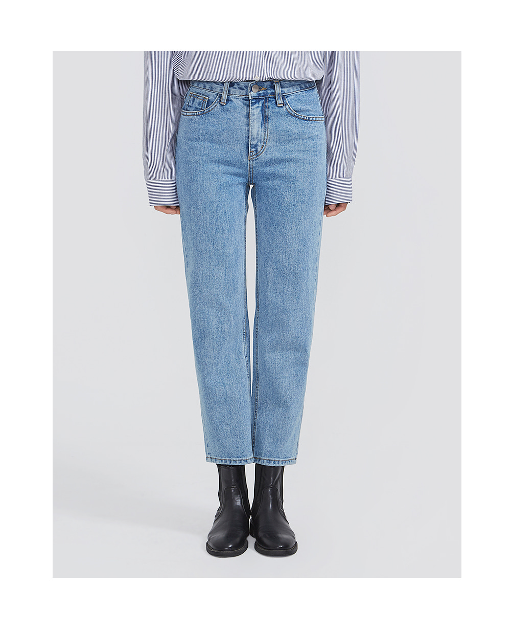 duly straight denim pants (s, m, l)