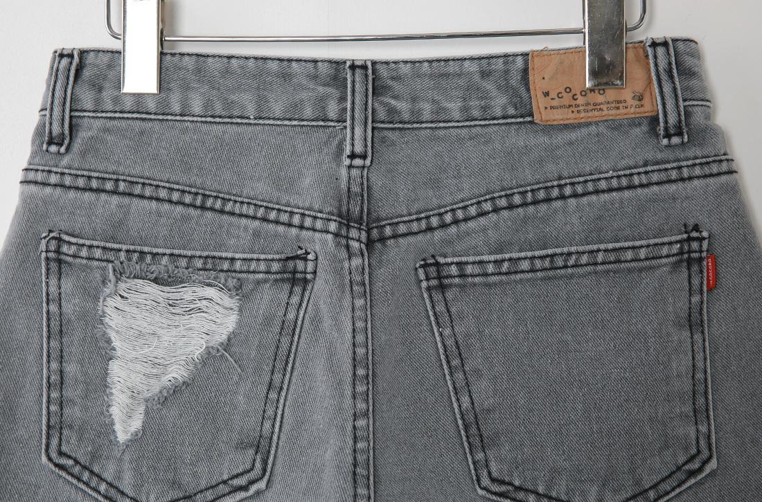 Gray chic shorts