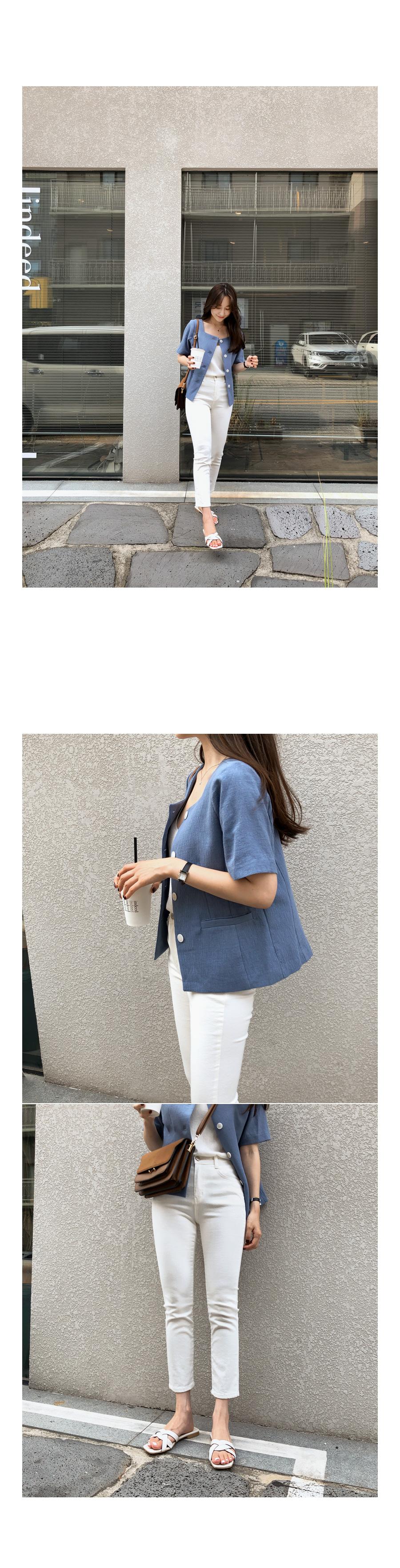Nokara square jk blue