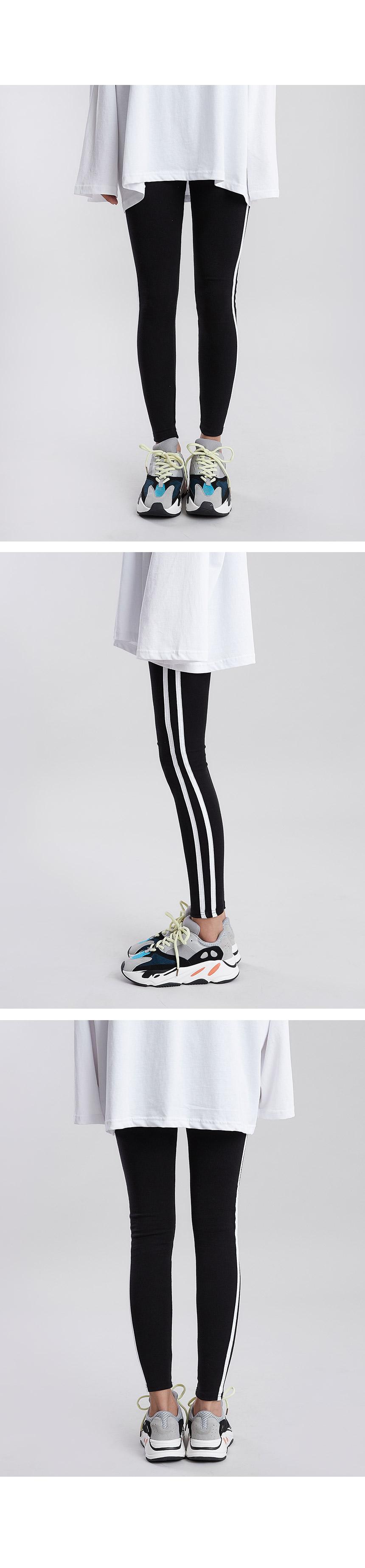 Double-line leggings