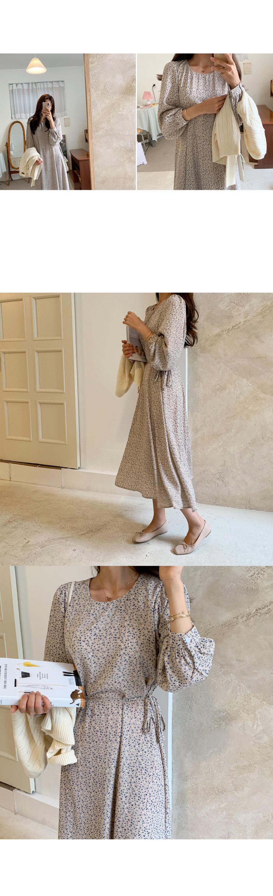 Shurin Flower Long Dress
