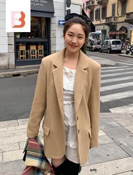 Janet golgi wool jacket (울 70%) (size : free)