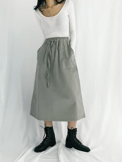 Street pocket skirt
