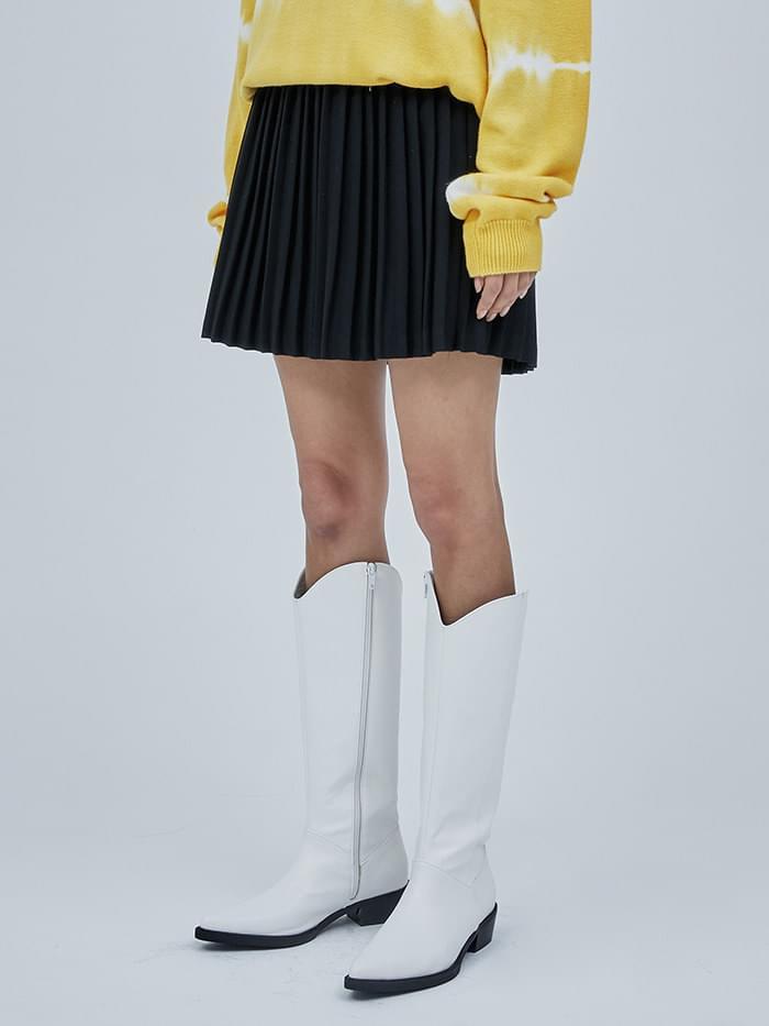 accordion pleats skirt - woman 裙子