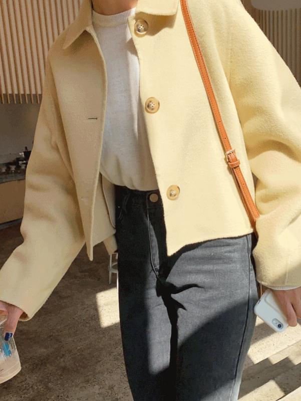 (H.M) 핸드메이드 숏 자켓
