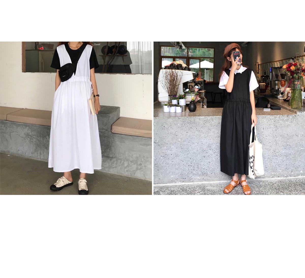 String Audrey Long Dress