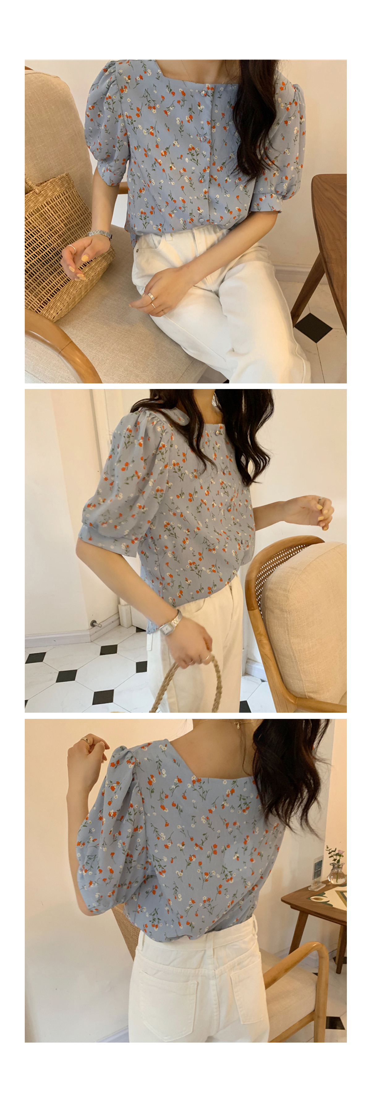 Flower Harry Blouse