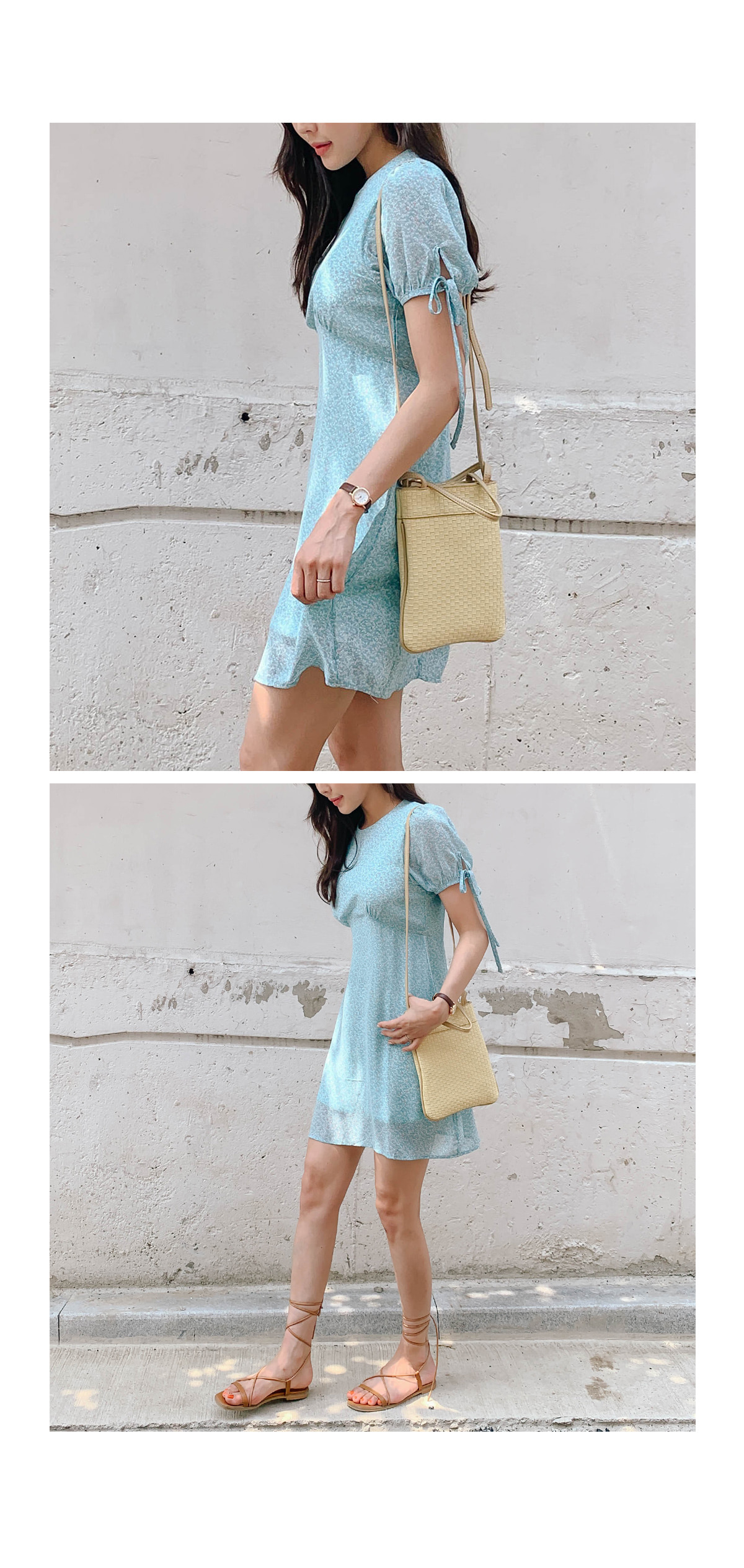 Flower Juice Mini Dress