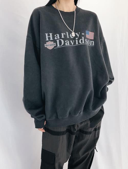 Harley Dying Man to Man T-Shirt