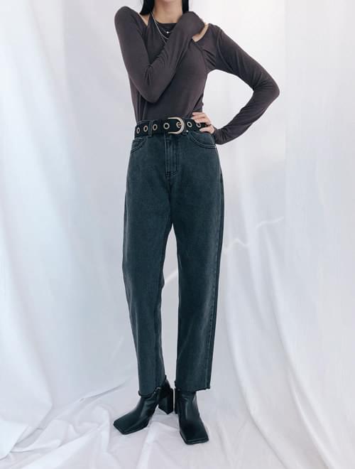 Chic Date Black Jean Pants