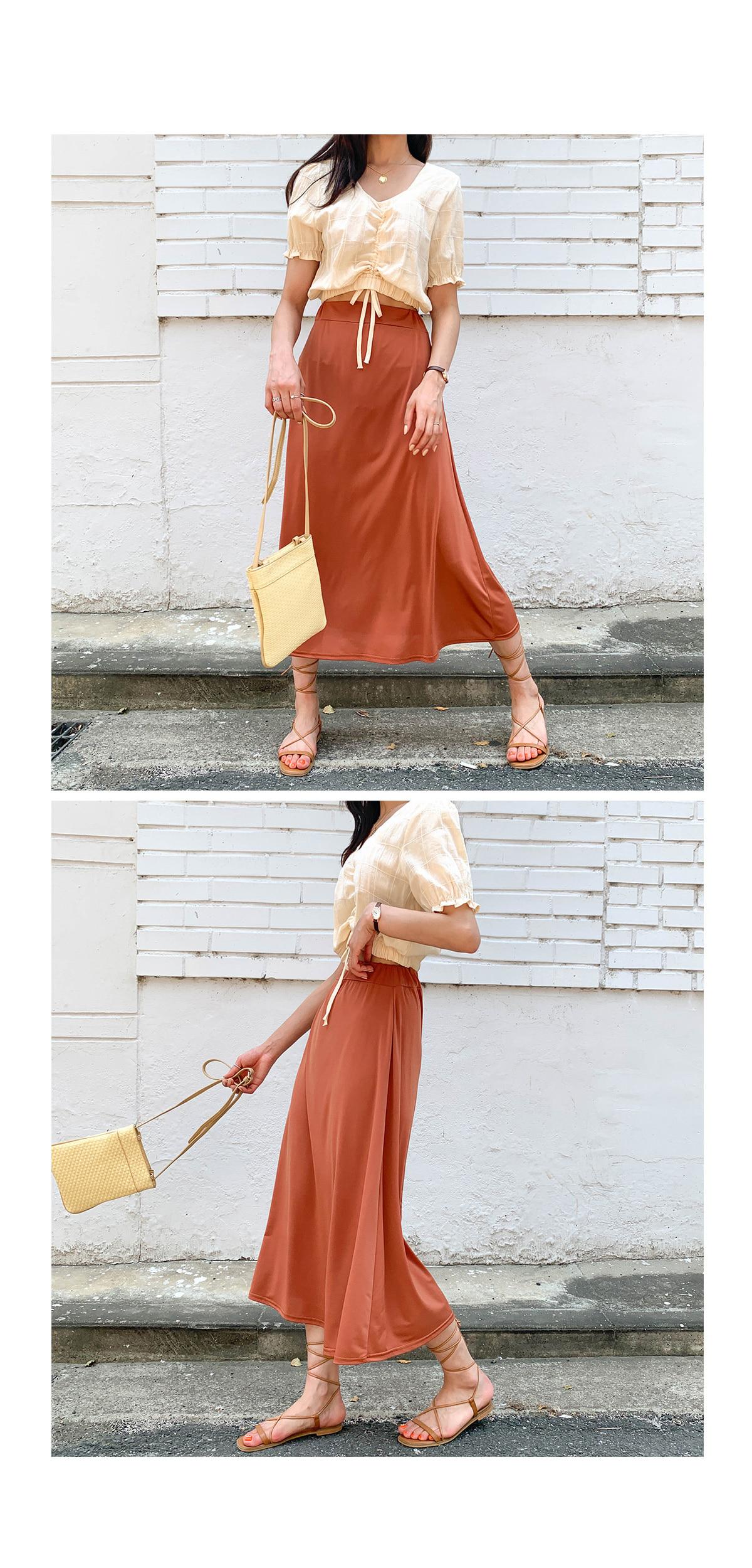 Linen alley crop blouse