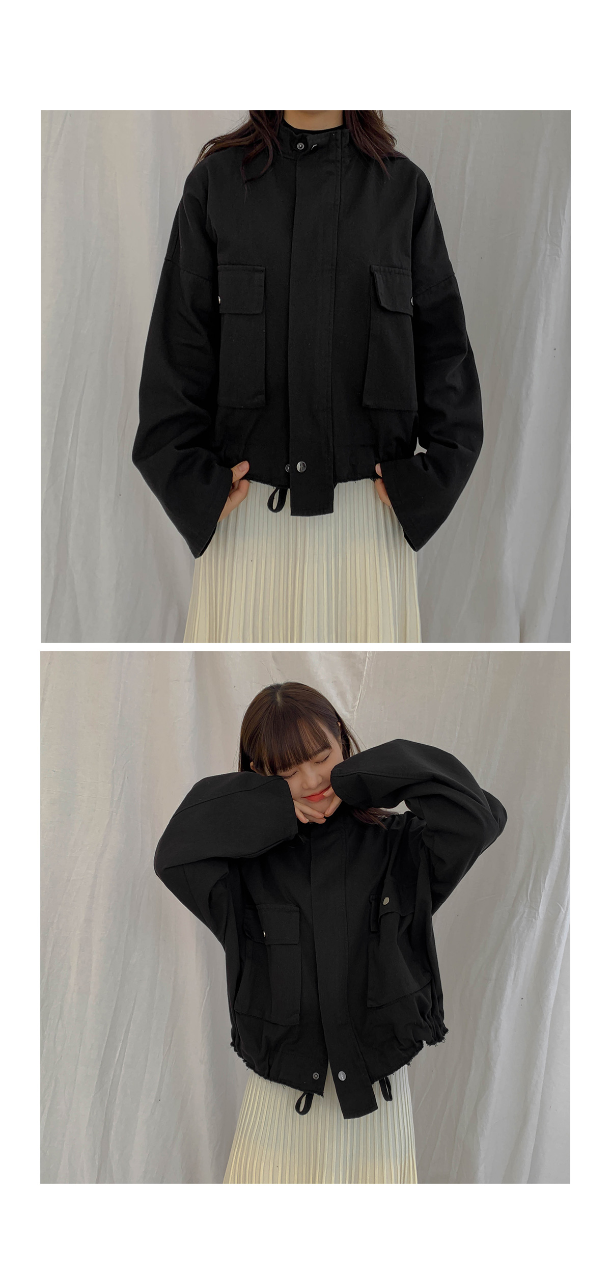 Pocket Let's Night Jacket