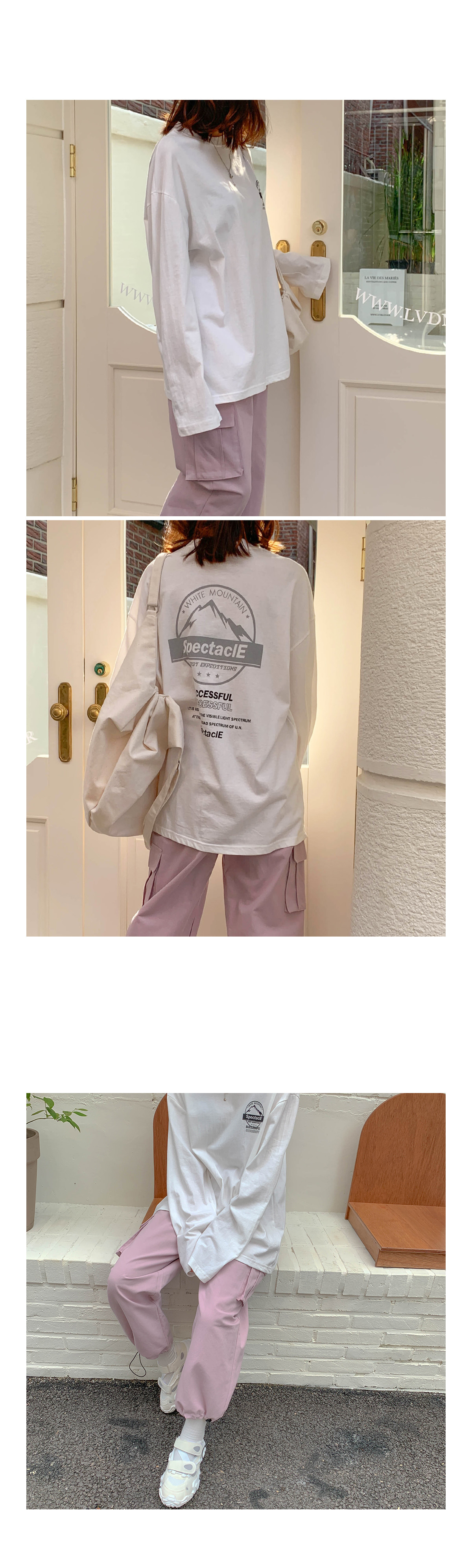 Overfit Bling Print T-shirt