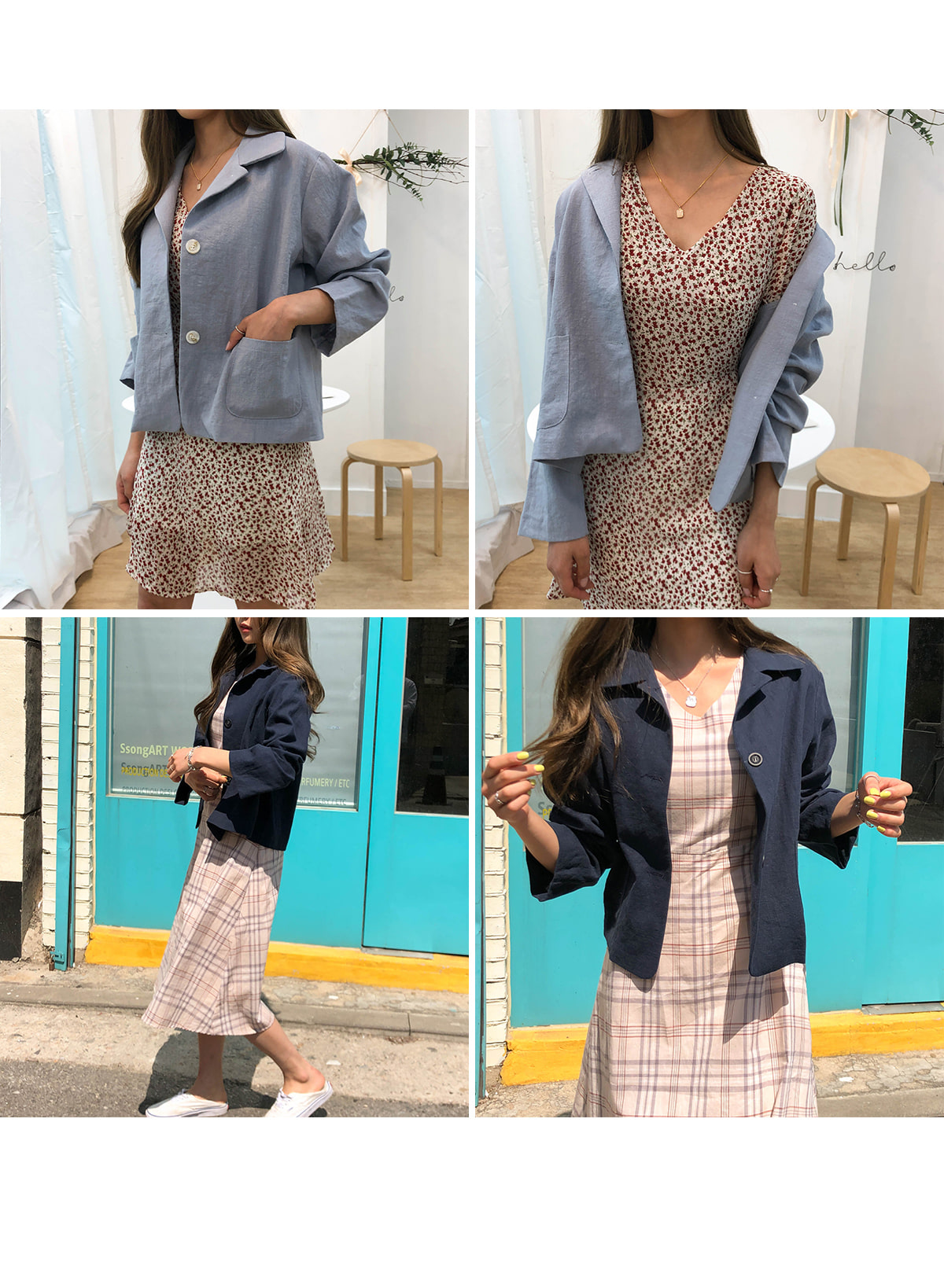 Luna linen jacket