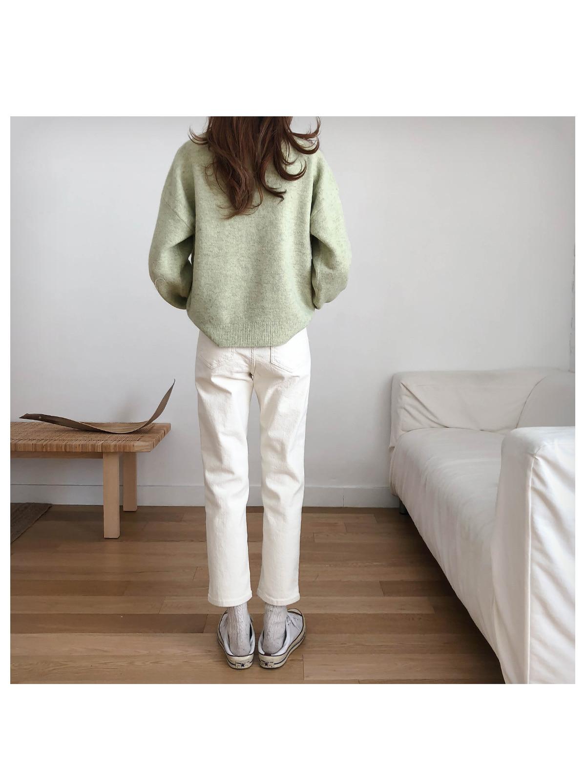 Brushed Earl Gray Cream Pants