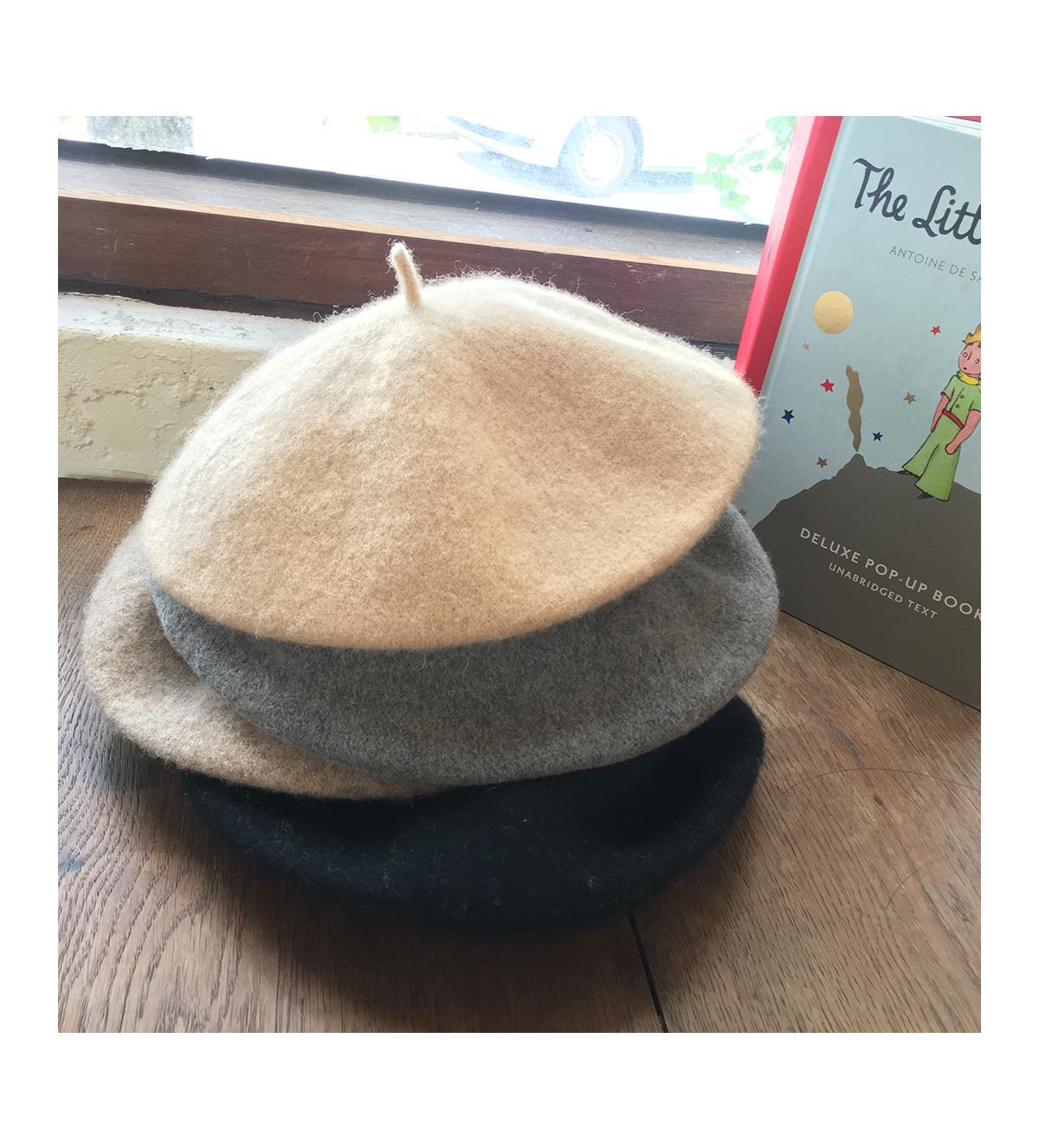 Wool irene beret