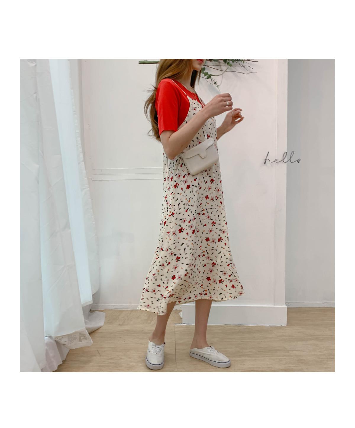 Flower Loaizen Bustier Long Dress