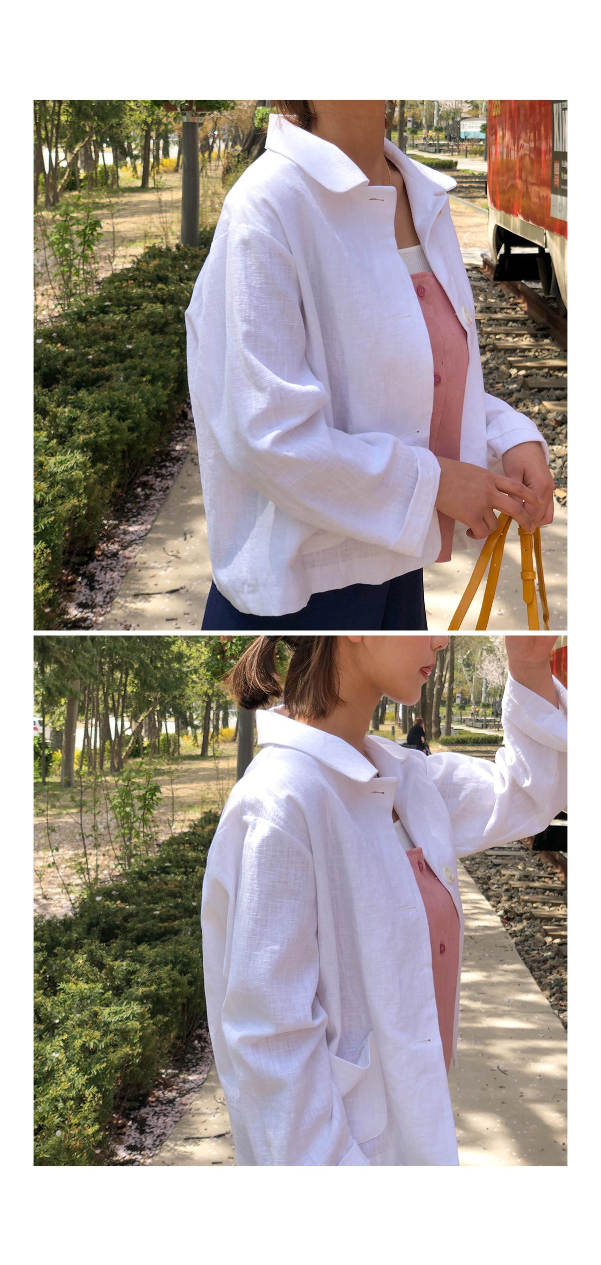 Linen melody bustier & shorts