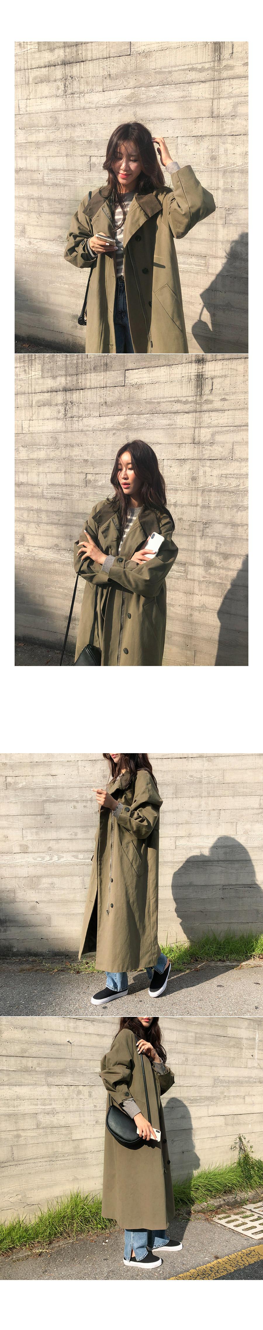 Trench head coat