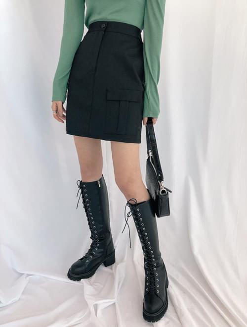 Kona pocket skirt