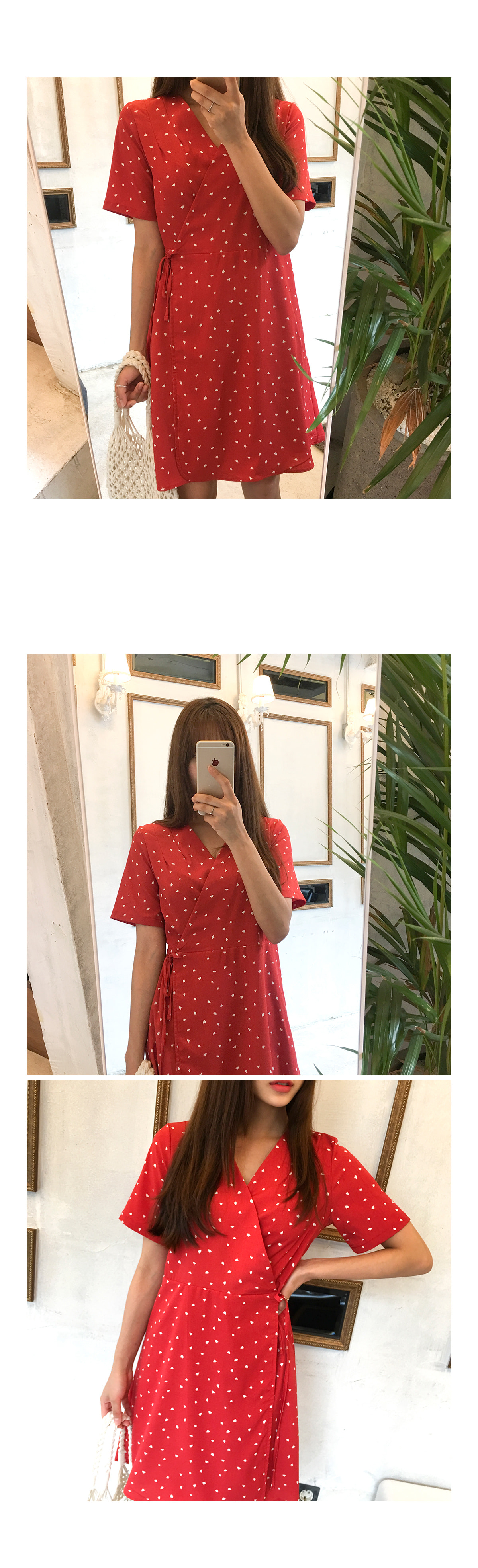 Darling heart rap dress