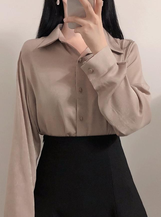 Bling velvet blouse