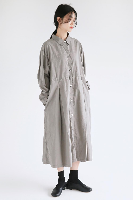 pintuck point shirts dress