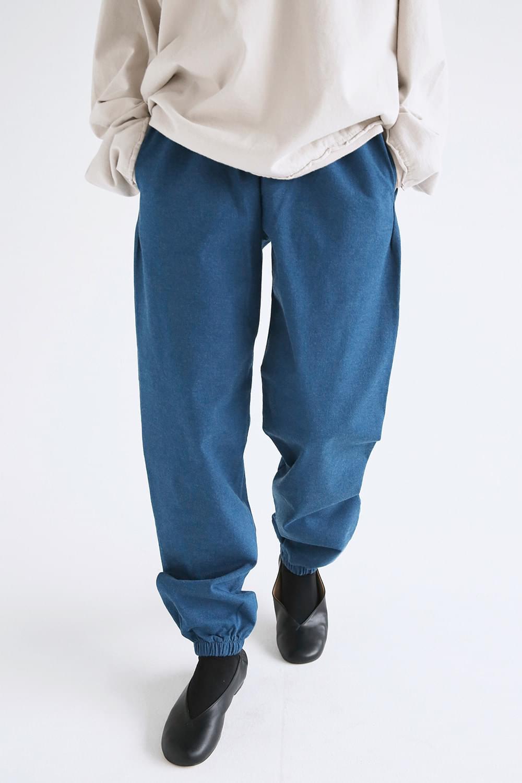 banding jogger wide pants
