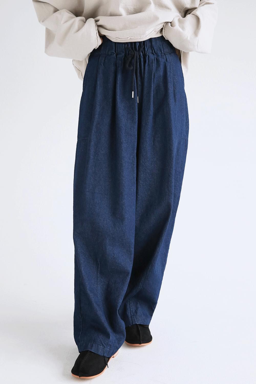 comfy denim loose pants